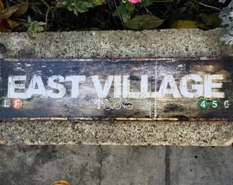 East Village - 4x15 in.