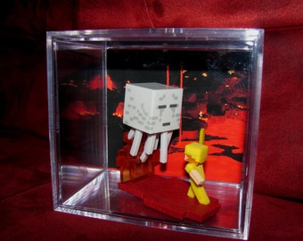 "MineCraft Ghast""Display"" Ready To Ship...intended for Display..will come out of case..Brand New..."