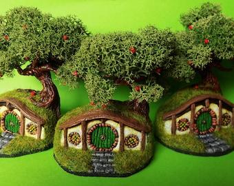 Hobbit House polymer clay