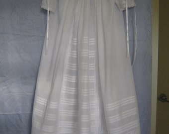 MARILYN  Heirloom Christening Gown Size 3 months and 6 months old