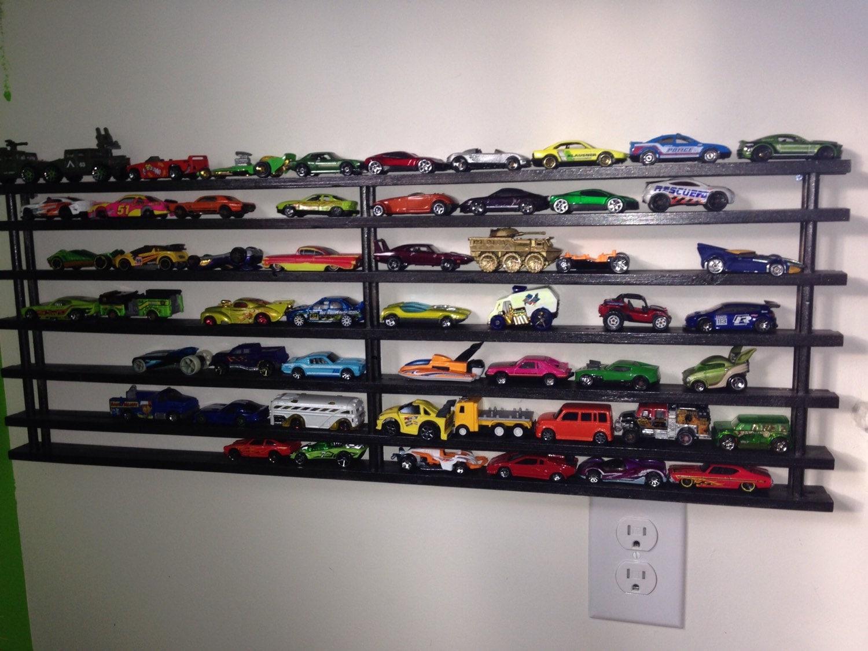 Hot Wheels Toy Car Holder Truck : Hotwheel matchbox car rack