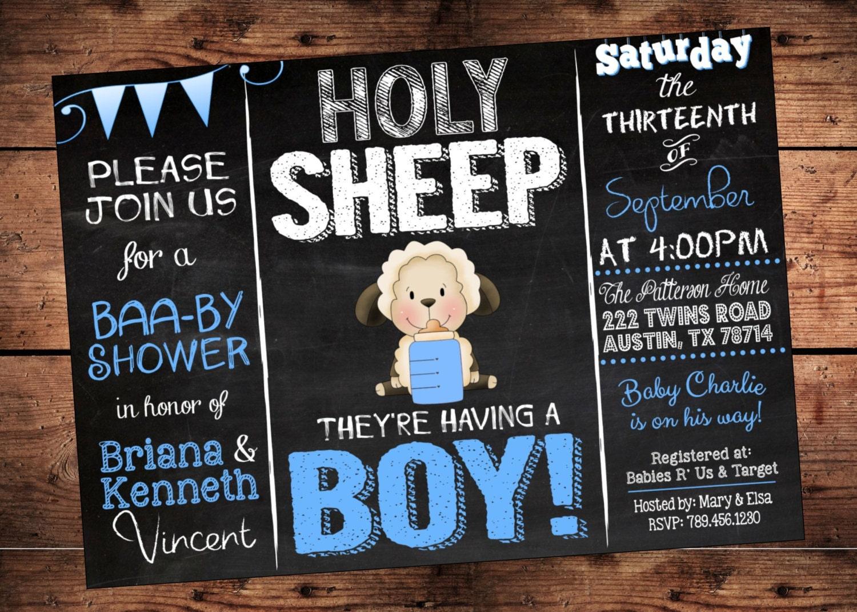 il_fullxfull.900012540_9iia holy sheep boy baby shower invitation lamb theme baby,Lamb Themed Baby Shower Invitations