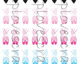 Ballerina Clothes Stickers for your planner or scrapbooking