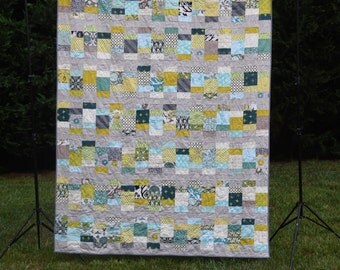 Looking Glass - a Printed Quilt Pattern - Charm Pack and Layer Cake Friendly - Baby, Lap, Twin, and Queen Sizes