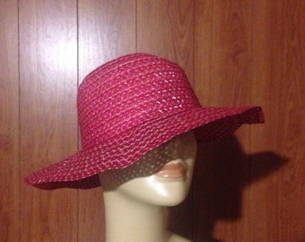 Red Fun Floppy Sun Hat