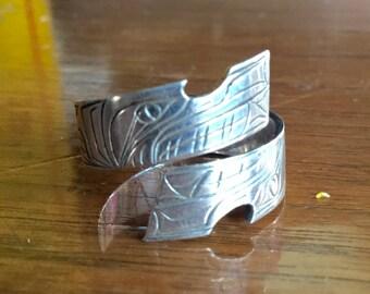 Haida Ring Etsy