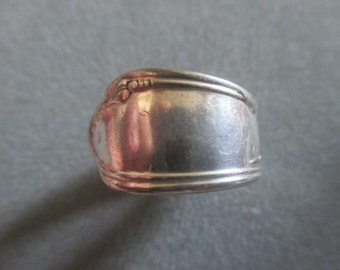 Boho Silverware Spoon Ring