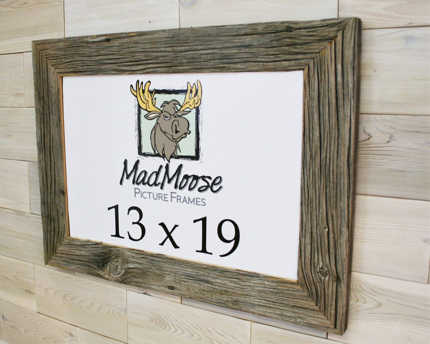 13x19 barn wood chunky x 3 picture frame tags barn wood frame barnwood frame weathered wood. Black Bedroom Furniture Sets. Home Design Ideas