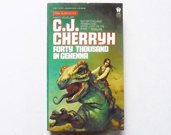 Forty Thousand In Gehenna: C.J. Cherryh 1984, DAW Vintage Science Fiction Paperback Book 1st Print