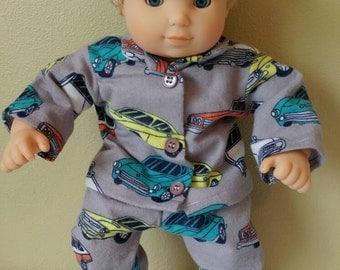 Bitty Baby Bitty Twin Boy Car Pajamas