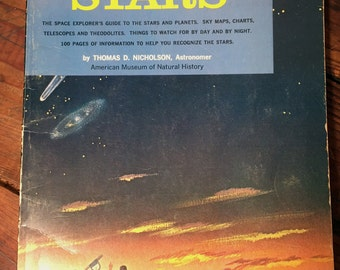 Vintage Stars Book, 1958 The Question and Answer Book of Stars by Thomas D. Nicholson