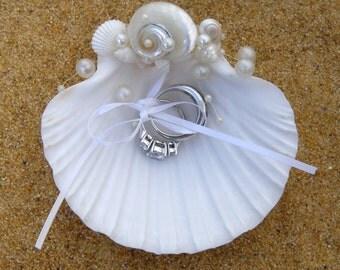 Ringbearer pillow alternative - ring dish for ring bearer