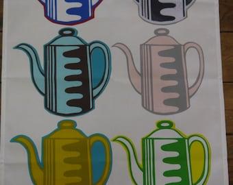 Vintage Coffee Pot tea towel