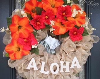 Aloha Wreath