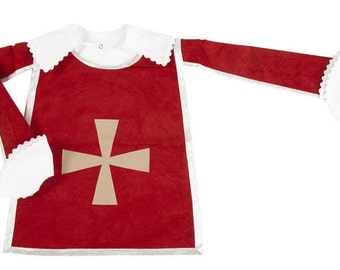 """BALANCES musketeer 6/8 years """"disguise: the Red tunic of musketeer and its accessories"""