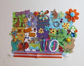 Scooby Doo Custom Mini Book Album DIY Kit Scrapbooking