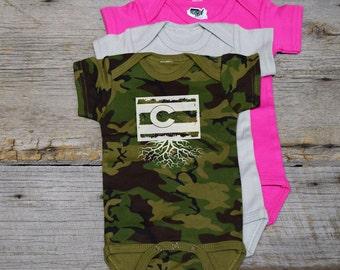 Colorado Flag Roots Bodysuit
