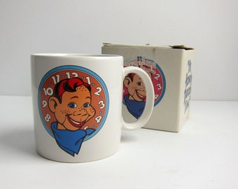 Vintage 1988 It's Howdy Doody Time Collectible Mug - Applause NBC Studios in Original Box