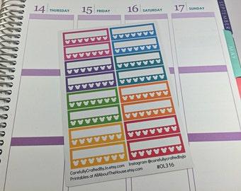 Mickey Mouse Habit Tracker Planner Stickers, Rainbow Sticker, Checklist Sticker, Erin Condren, Plum Paper, MAMBI, planner accessory