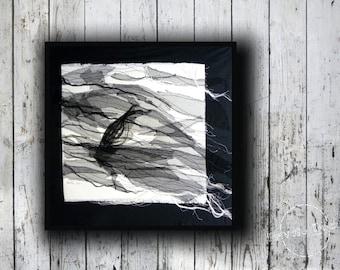 Regattas - Textile Art - Nautical Art  Nautical Chic, Contemporary Art, Fine Art, modern interior, wall hanging
