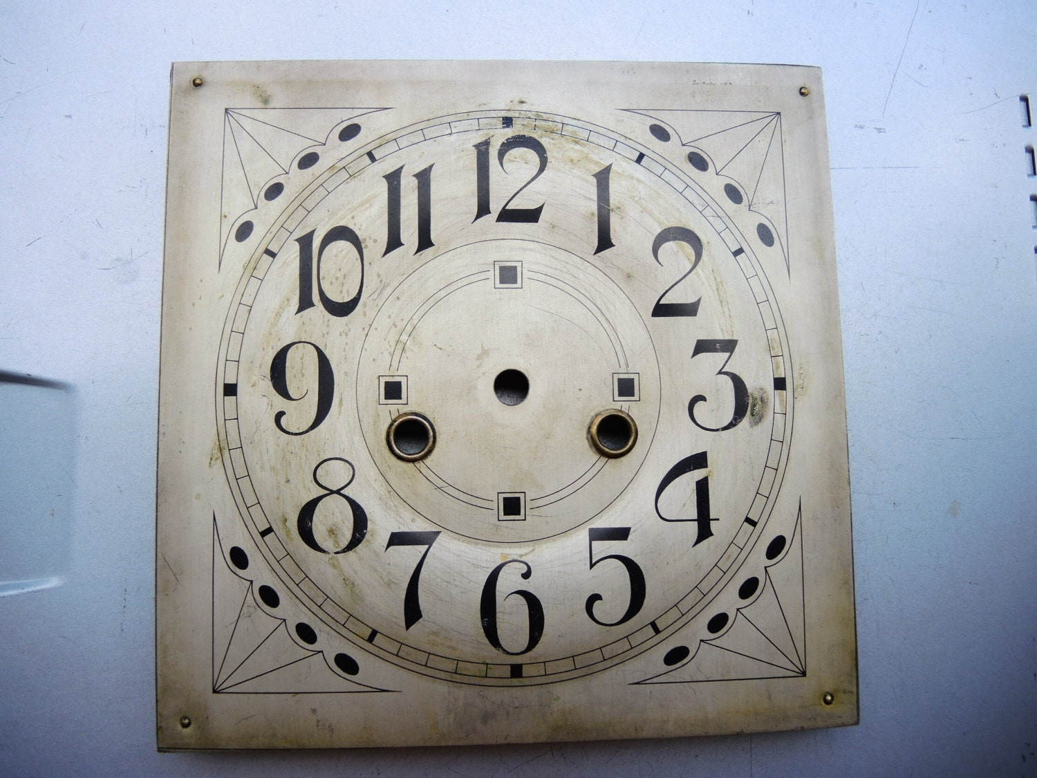 Wall clock accessories : Genuine antique clock parts wall junghans gb brass
