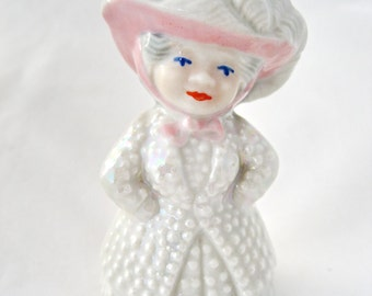 Wade Pearly Queen Pink Hat 1950's (Perfect)
