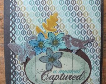 Handmade Mini Scrapbook album