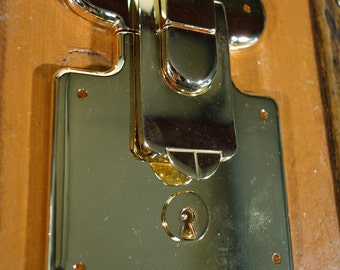 1 Lock  for trunk or  suitcase (  luxury )