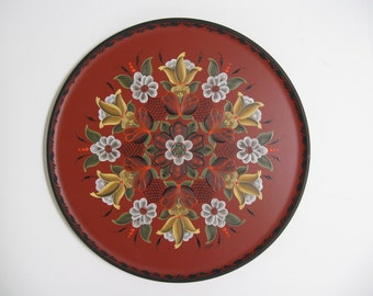 Items similar to norwegian rosemaling on a vertical for Mygw