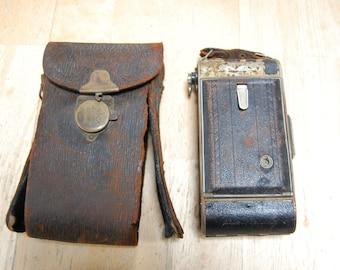 Kodak Autographic Special No. 1 Model B Vintage Camera Eastman Kodak Vintage Camera Body and Original Leather Case