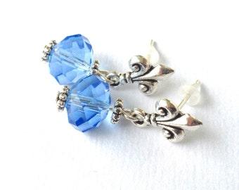 earrings Florence blue