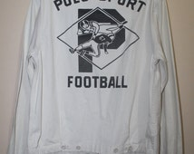 Vintage Ralph Lauren Polo Sport Football Jacket Stadium Sportsman P Wing Ski Crest