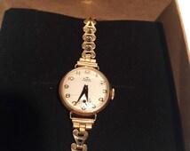 Audax Fortis Vintage Ladies Wrist watch Swiss Made / Ladies vintage manual wind Swiss watch / Gift for Her