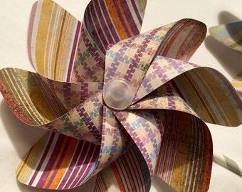 Plaid Pinwheel