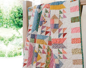 Layer Cake, Jelly Roll and Charm Quilts Quilt Book by Pam and Nicky Lincott FREE SHIP