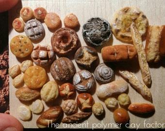 Miniature bread set