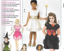 Learn to Sew McCall's Costumes Pattern 7453 DOROTHY FAIRIES PIRATE & More Girls' Sizes 7 8 10 12 14