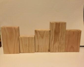 DIY Unfinished Blocks - Unfinished - Unfinished Blocks - DIY 5