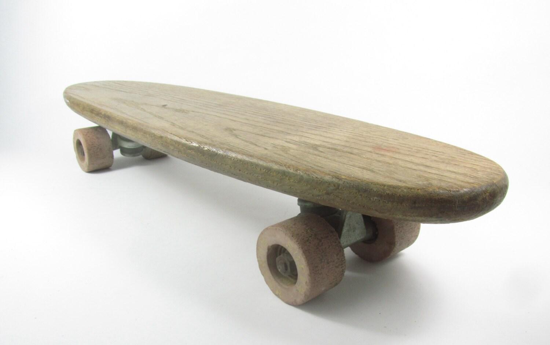 Tall Coffee Table Vintage Skateboard Wood Skateboard 1960s Sports Sports