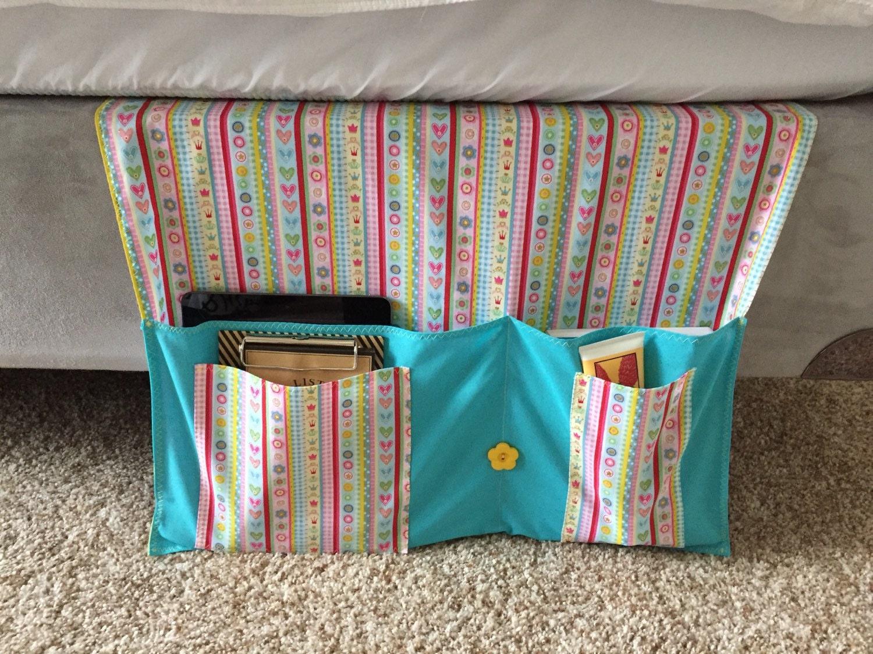 Girls Bedside Bed Caddy Bed Organizer Dorm Organizer