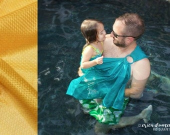 Bibetts 'Golden' Water Ring Sling Baby Carrier - CPSIA compliant - Infant, Toddler and Baby Carrier