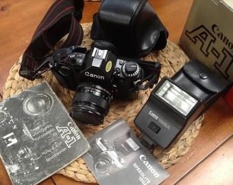 Canon A-1 35mm Camera