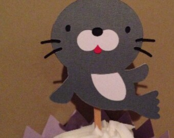 Seal Cupcake Topper