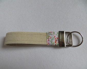 Key ring, key chain, key holder, key fob, handmade key ring, accessories
