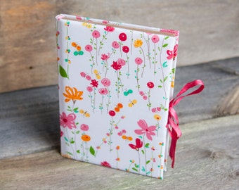 Notebook handmade  Summer flowers
