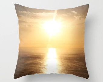Sunset Tenerife Pillow Cover, Indoor Throw Pillow Cover, Throw Pillow Cover, Throw Pillow, Pillow Cover