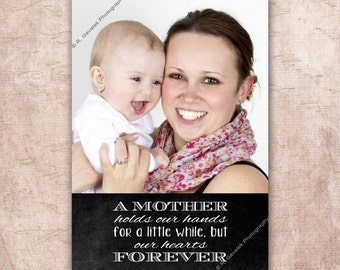 Personalized Mother's Day Photo Card, Mother's Day Printable, Gift for Mom, Mother's Day Photo Gift