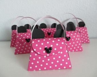 Minnie Mouse Purse Party favors (Set of 6)