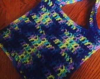 REUSABLE MARKET BAG- hand crocheted