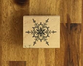Snowflake Stamp - FREE SHIPPING!